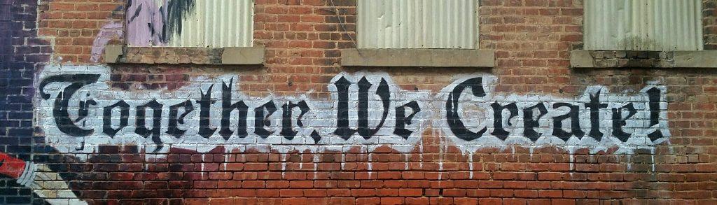 graffiti Together We Create